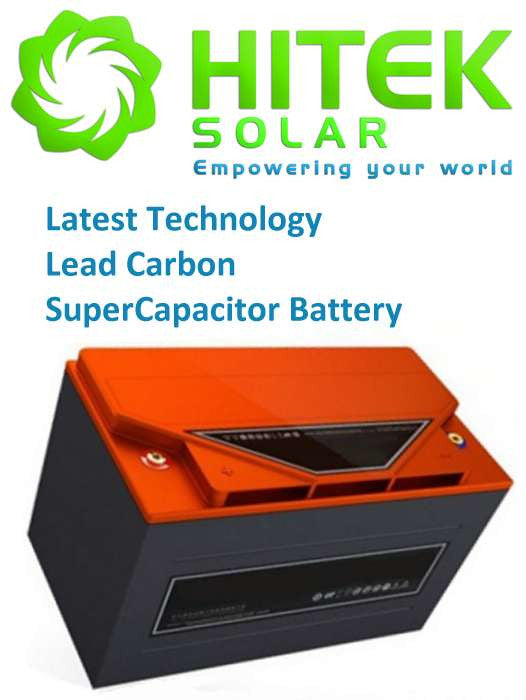 48v 300Ah (14.4kW) Lead Carbon SuperCapacitor (LCS Pb-C) Battery (June Promo Special)