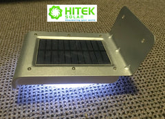 Outdoor Solar Powered Motion or Sound Activated LED Security Light
