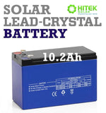 12v 9Ah - 10.2Ah Sealed Deep Cycle Solar Lead-Crystal Battery