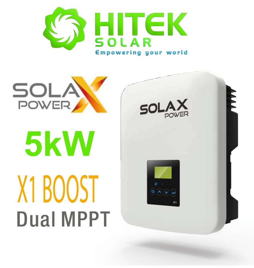 SolaX 5kW X1-Boost Latest On-Grid Solar Inverter