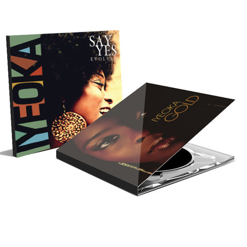 "Iyeoka - ""Say Yes Evolved"" + ""Gold"" CD Package"