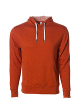 Load image into Gallery viewer, Unisex French Terry Hoodie Burnt Orange Pullover Sweatshirt