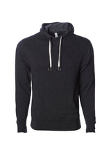 Load image into Gallery viewer, Unisex French Terry Hoodie Charcoal Heather Pullover Sweatshirt