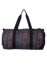Load image into Gallery viewer, Southwestern print weekend duffel travel bag with handles and removable shoulder strap