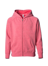 Load image into Gallery viewer, Toddler Lightweight Ultra Soft Pomegranate Zip Up Hoodie