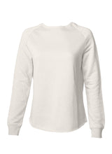 Load image into Gallery viewer, Women's Color Washed Ultra Soft Vintage Misty Bone Crew Sweatshirt