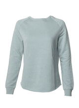 Load image into Gallery viewer, Women's Color Washed Ultra Soft Vintage Sage Crew Sweatshirt