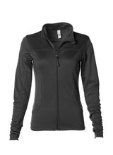 Load image into Gallery viewer, Women's Lightweight Slim Fit Black Yoga Jacket
