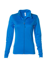 Load image into Gallery viewer, Women's Lightweight Slim Fit Aster Blue Yoga Jacket