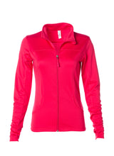 Load image into Gallery viewer, Women's Lightweight Slim Fit Coral Yoga Jacket