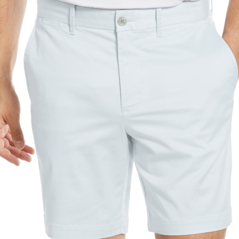 SHORT STRETCH SLIM FIT AZUL CLARO