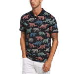 POLO CON ESTAMPADO DE LEOPARDOS