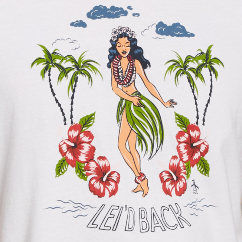 PLAYERA LEI'D BACK