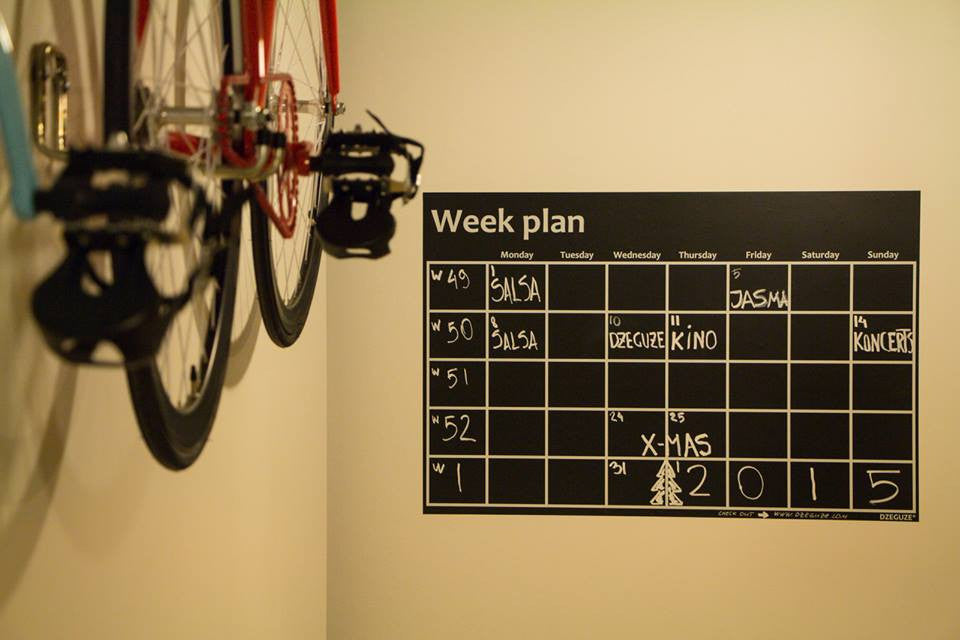 "Slatesticker ""Week Plan"""