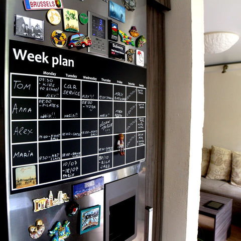 """Week Plan"" magnet"
