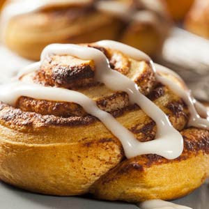 Iced Cinnamon Roll