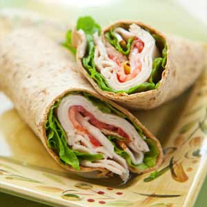 Turkey and Bacon Wrap