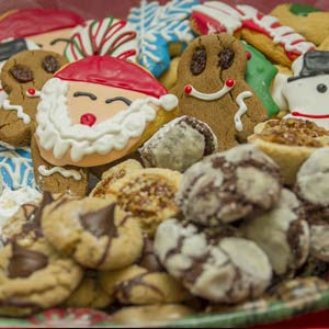 Gourmet & Holiday Cookie Tray