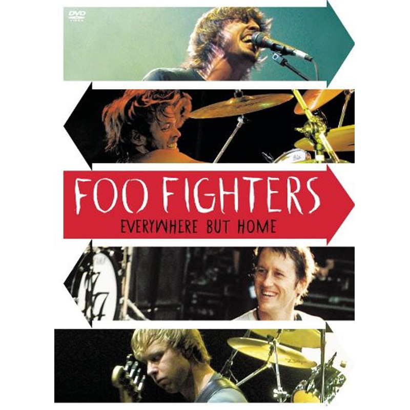 Everywhere But Home DVD - Foo Fighters - 1