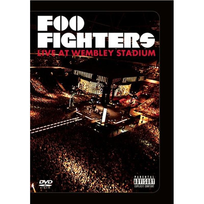 Live At Wembley Stadium DVD - Foo Fighters - 1