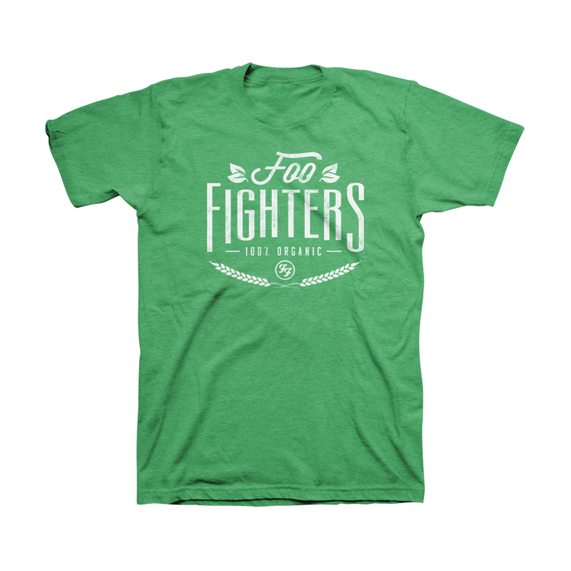 Organic Unisex Tee (Heather Kelly) - Foo Fighters