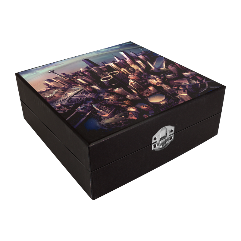 Wooden Collectors Box - Foo Fighters