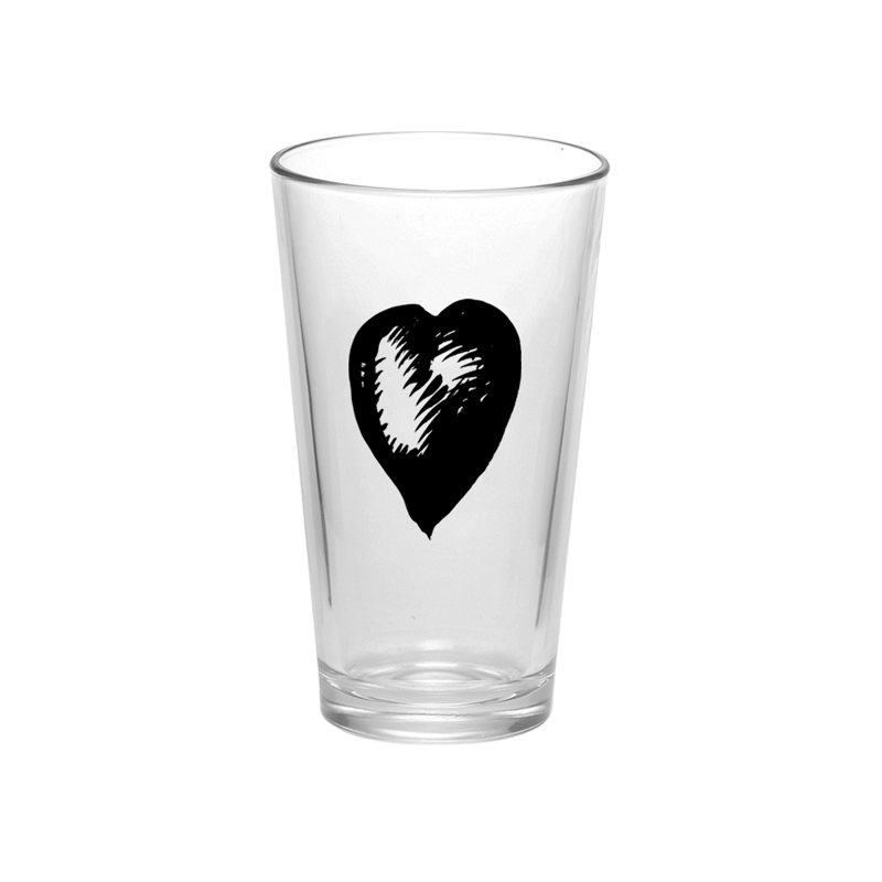 One By One Pint Glass - Foo Fighters