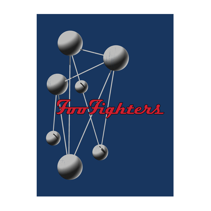 Molecules Wall Flag - Foo Fighters
