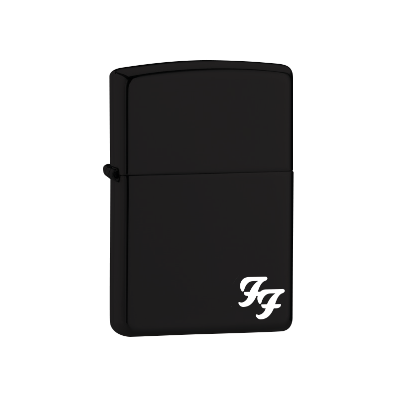 Black Matte Zippo Lighter - Foo Fighters