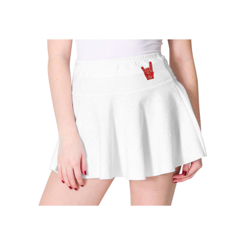 Metal Fingers Skirt (White)