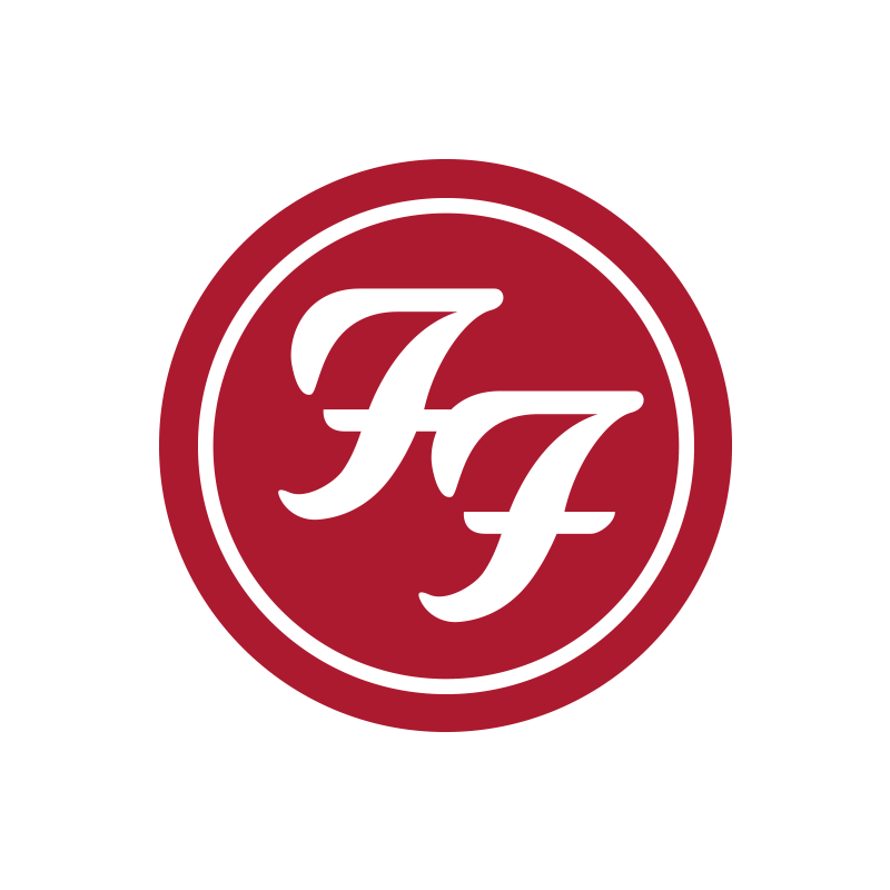 Red Circle Logo Patch - Foo Fighters
