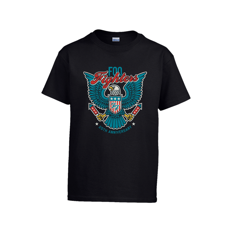 Eagle Youth Tee - Foo Fighters