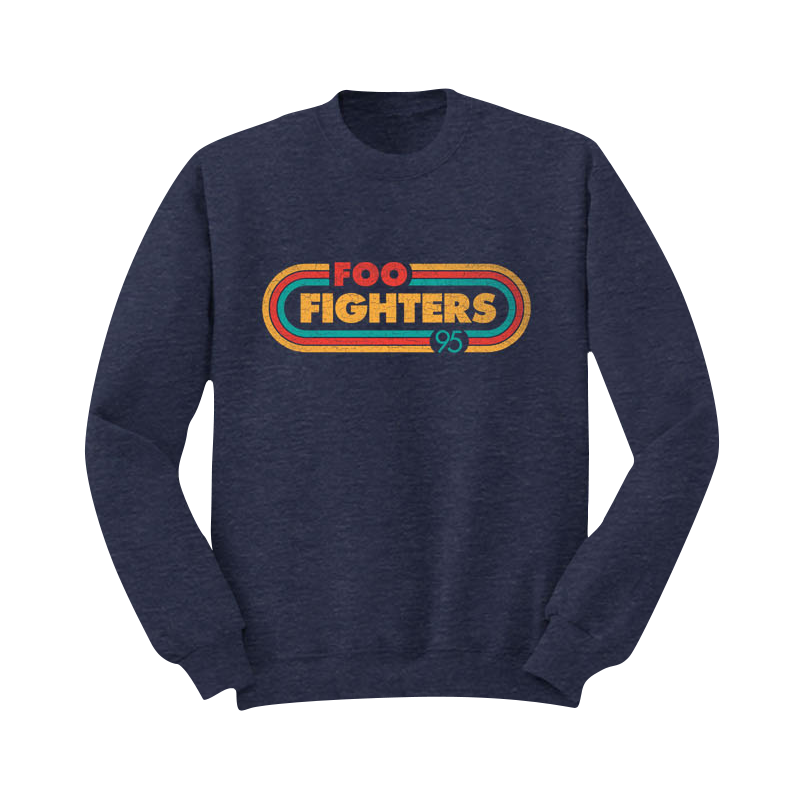 Racer Crewneck Sweatshirt - Foo Fighters