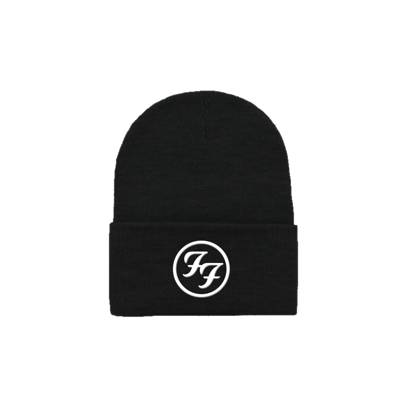 Logo Foldover Beanie - Foo Fighters
