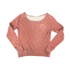 Little Angels Off Shoulder Sweater (Red) - Foo Fighters