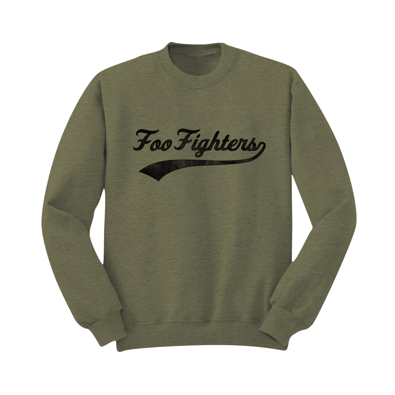 Foo Ball Crewneck Sweatshirt - Foo Fighters