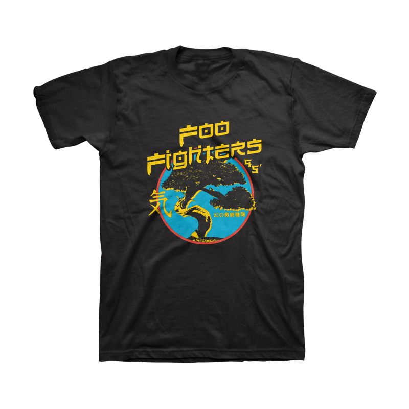 Bonsai Unisex Tee - Foo Fighters