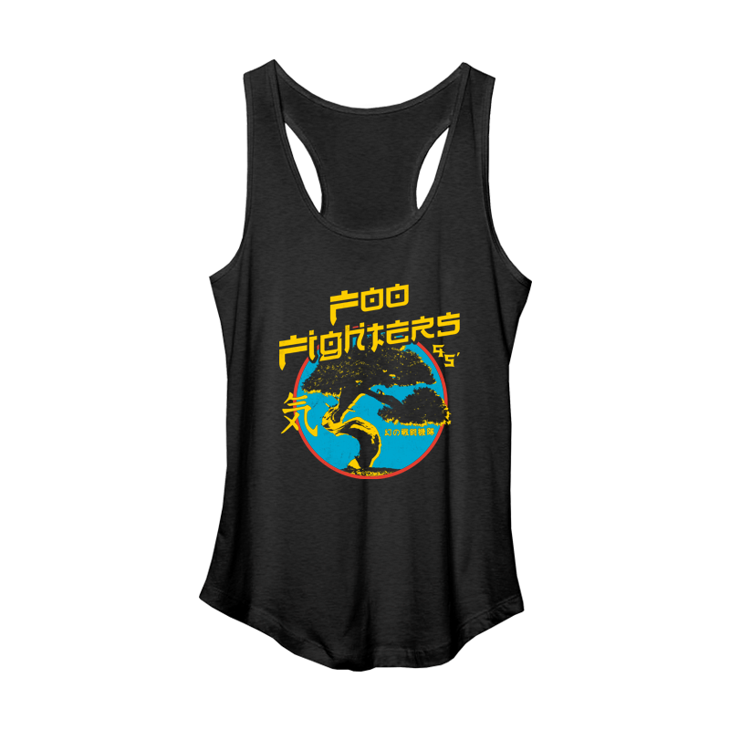 Bonsai Women's Tank - Foo Fighters