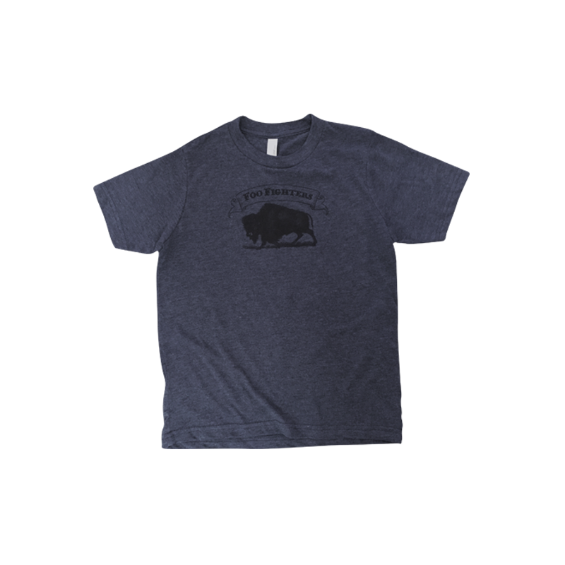 Buffalo Honor Youth Tee (Vintage Navy) - Foo Fighters