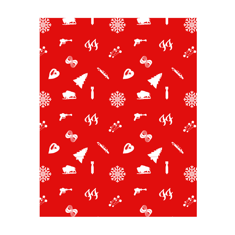 Foos 2015 Wrapping Paper - Foo Fighters - 1