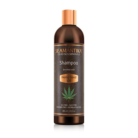 SHAMPOO - ENRICHED WITH HEMP SEED OIL