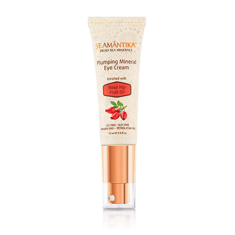 PLUMPING MINERAL EYE CREAM - ROSE HIP FRUIT OIL