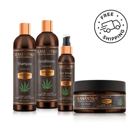 HEMP SEED OIL SET