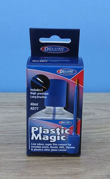 Deluxe Materials Plastic Magic  40ml  New Formula Post combines with all paints.