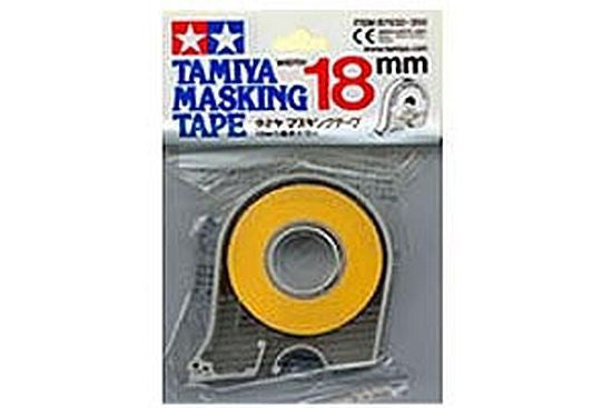 Tamiya Masking Tape 18m rolls 6,10 or 18mm wide Refill or with dispenser