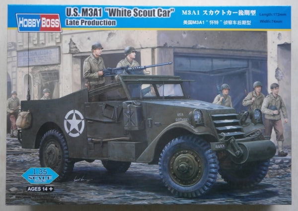 Hobby Boss US M3A1 White Scout Car Late Production 1/35
