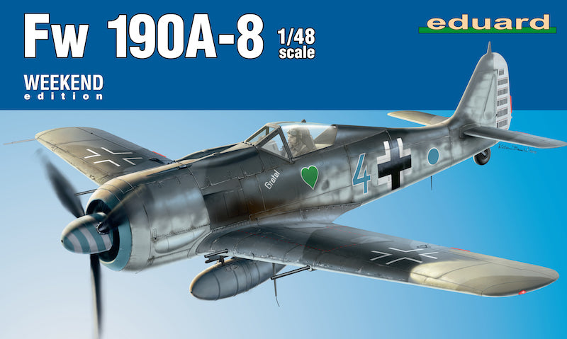 Eduard 1/48 Focke-Wulf Fw 190A-8 'Weekend Edition'