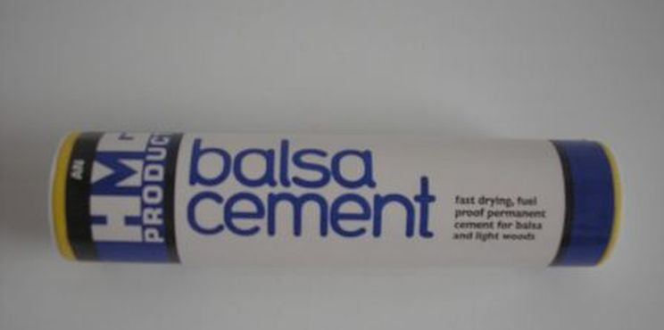 HMG Balsa Cement 24ml Tube