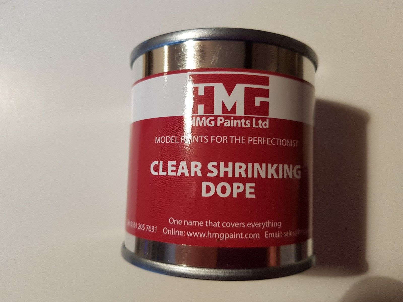 HMG Clear Shrinking Dope 250ml can