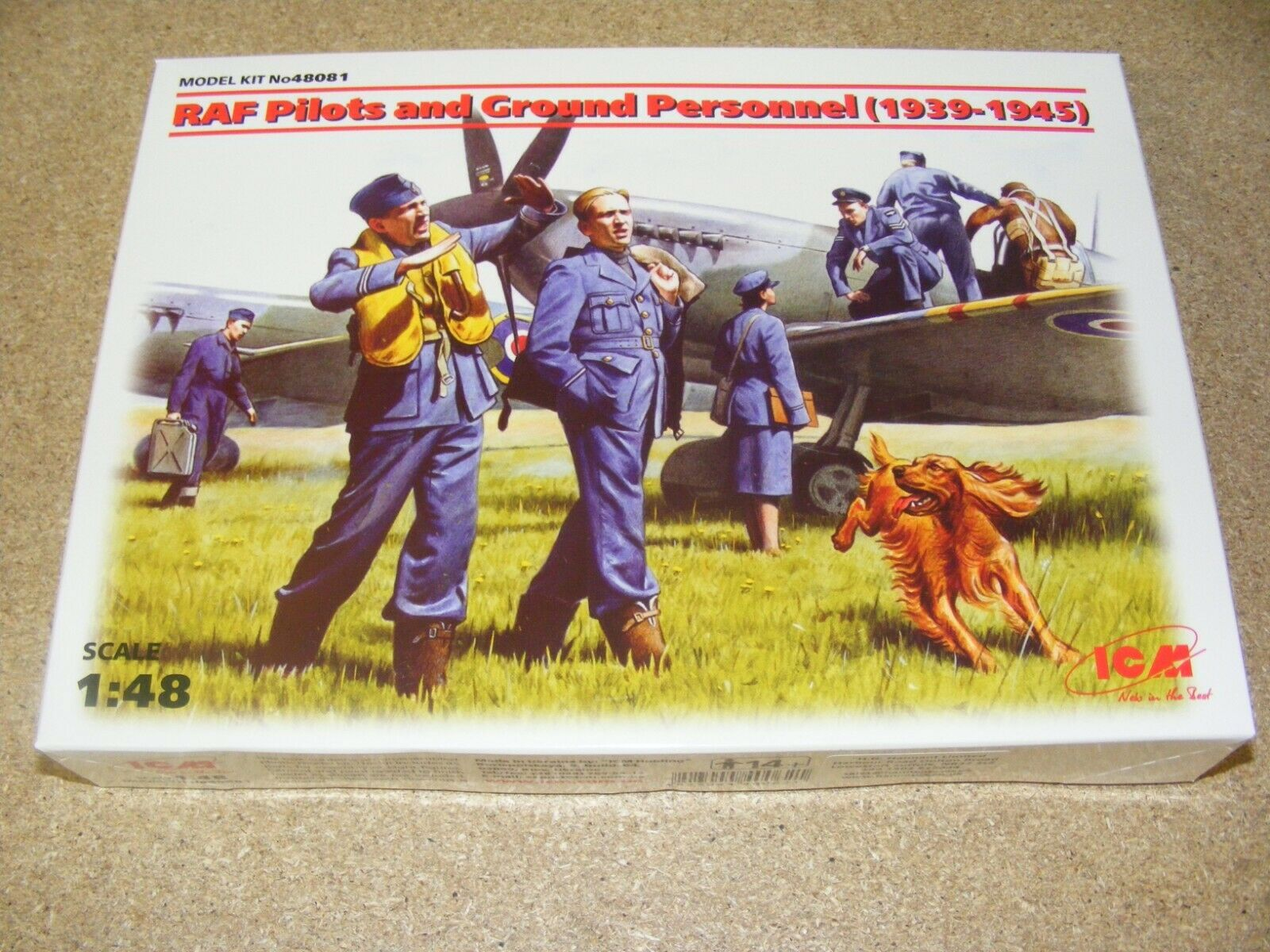ICM 1:48 RAF Pilots and Ground Personnel 1939-1945
